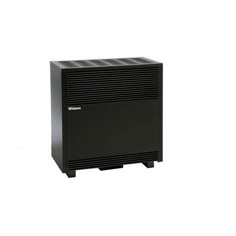 williams vented room heater williams 50 000 btu hr enclosed front console propane gas room heater 5001521a the home depot
