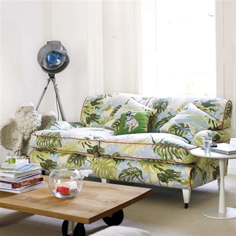 patterned couches patterned living room sofa housetohome co uk