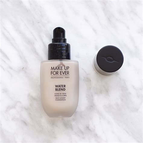 thenotice make up for water blend foundation review