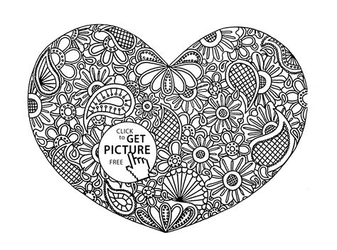 heart pattern color top 30 free printable crown coloring pages online