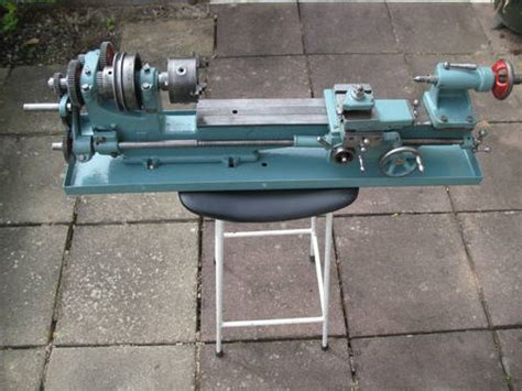 small bench lathe small screwcutting bench lathe for sale sold car and classic