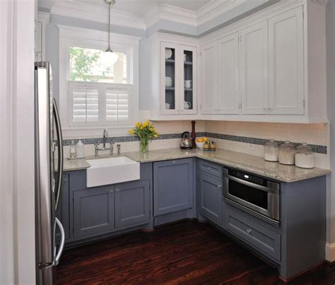 kitchen cabinets two colors 100 excellent small kitchen designs that are smart useful