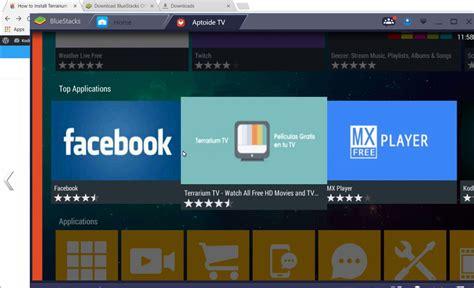 bluestacks terrarium tv how to install terrarium tv on windows pc laptop kfiretv