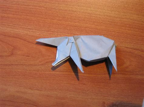 how to make origami rhino origami rhino algorithm co il