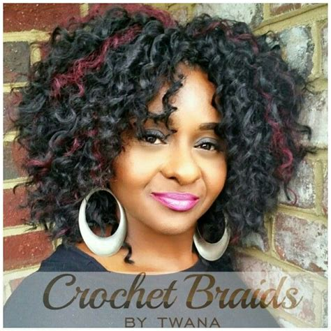 freetress bohemian color 99j crochet braids with freetress barbadian braid color 1b
