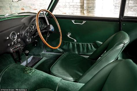 aston martin sedan interior motoring prepares for auction of cars