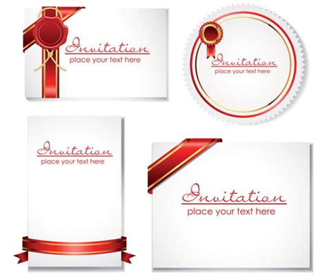 invitation card template design best design invitation card template vector free vector
