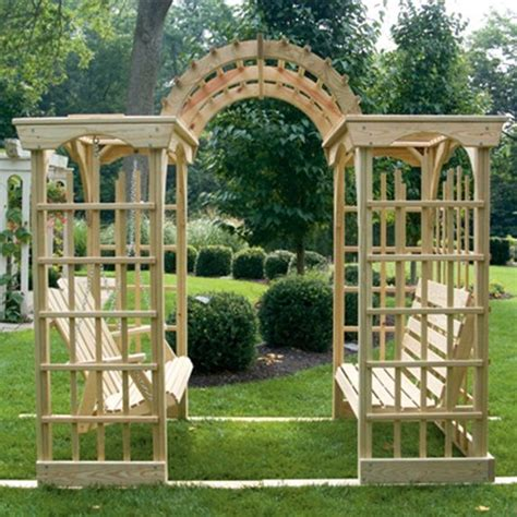 garden bench pergola 17 best images about porch swings on pinterest gardens