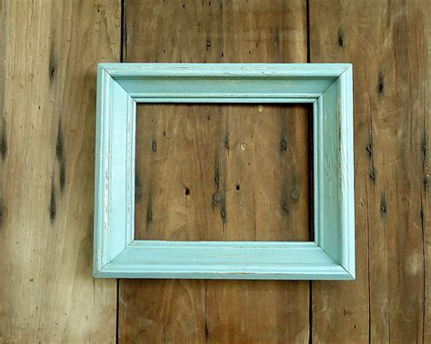 woodworking picture frames vintage picture frame wood wooden photo empty blue