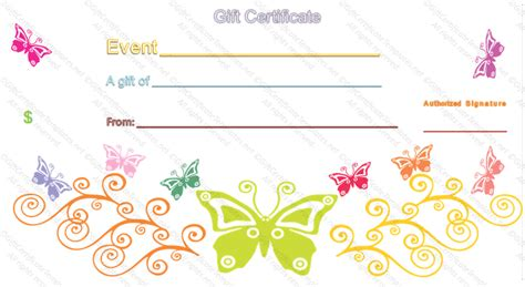 s day gift card template event gift certificate template
