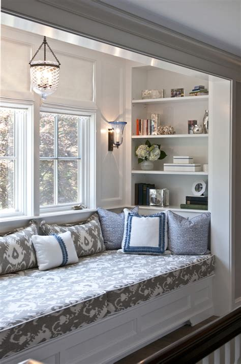 how to decorate a window seat how to decorate and furnish a small study room