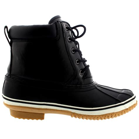 mens duck boots waterproof mens tread snow duck bean waterproof