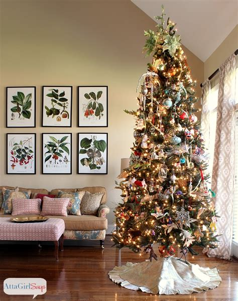 Christmas Centerpiece Images - 2013 christmas house tour hundreds of holiday decorating ideas atta says