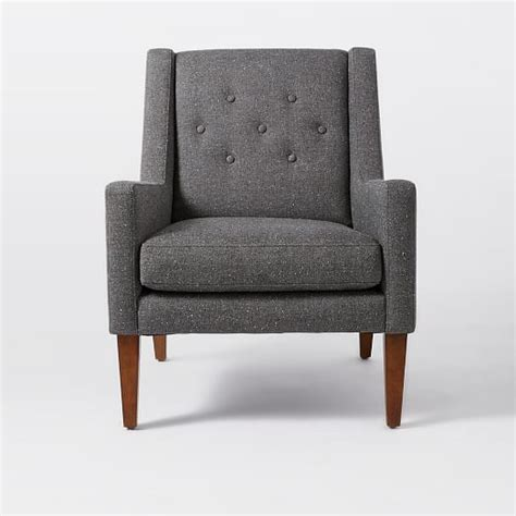 upholstery chair library upholstered chair west elm