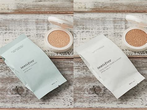 Innisfree Water Fit Cushion Spf34pa new cushion makeup by innisfree