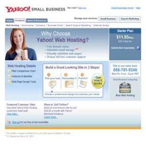 yahoo web hosting  good    work