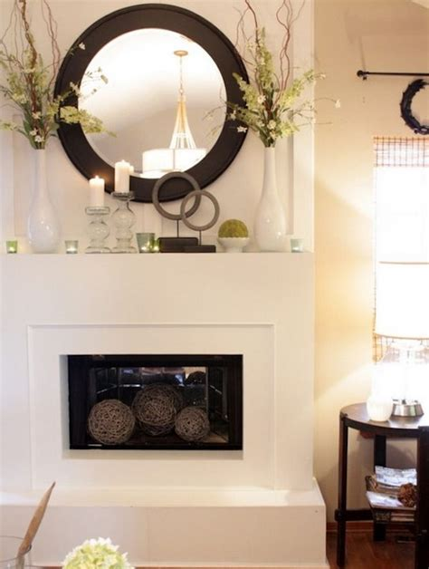 living room mantel ideas transform your fireplace mantel into a spring focal point