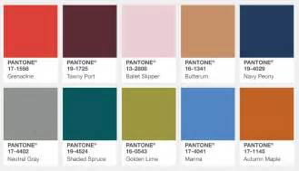 pantone color trends pantone s fall 2017 color trends bead world