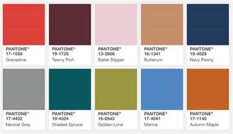 best color swatches of 2016 graphics pantone fashion color report fall 2017 color