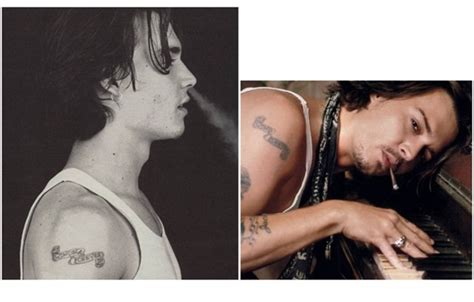 johnny depp wino tattoo 12 things you didn t know about johnny depp