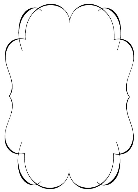 free clipart for websites black and white clipart borders clipart panda