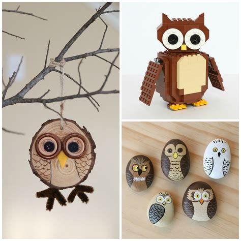 owl crafts for 15 adorable owl crafts to make with