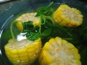 resep sayur bening bayam segar resep masakan nusantara