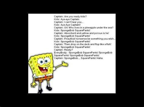 theme song spongebob microsoft sam sings spongebob squarepants theme song youtube