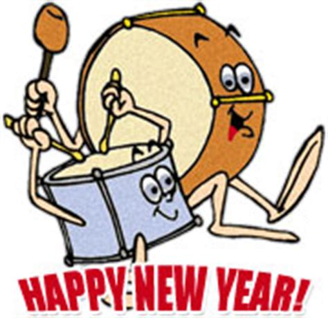 new year drum free new year clipart graphics
