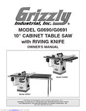 Grizzly G0691 Manuals