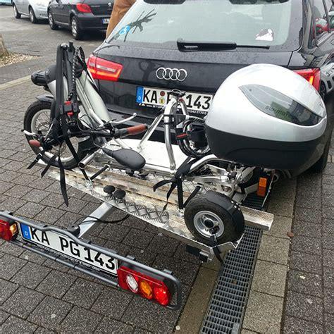 Motorradgespann Versicherung by E Bikeboard Freeliner Kfz Hecktr 228 Ger Lastentr 228 Ger