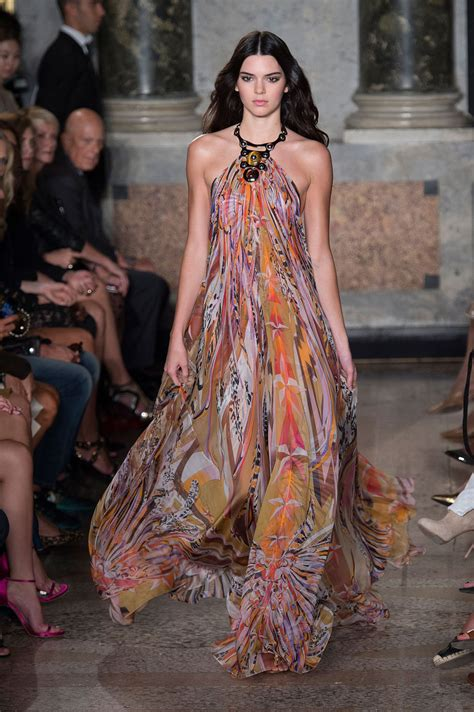 In Runway Looks by Emilio Pucci 2015 Kendall Jenner S Best Runway