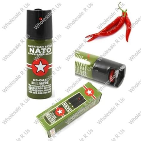 Nato Pepper Sprayer Personal Protection 60ml personal security 40ml american style nato