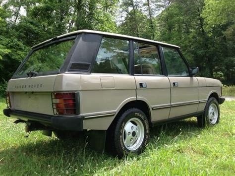 range rover hunter find used 1991 land rover range rover hunter edition