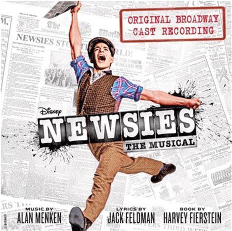 upcoming cast recordings playbill newsies the musical original broadway cast recording cd