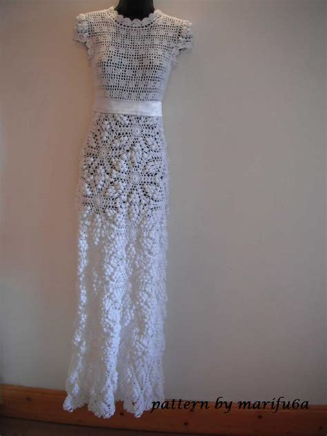 pattern crochet wedding dress you have to see crochet wedding dress pattern and video by