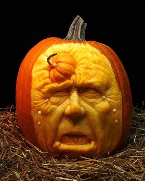 clever pumpkin awesome creative pumpkins 35 pics