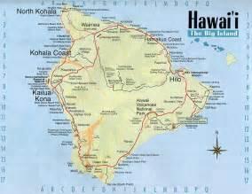 map usa to hawaii hawaii volcanoes