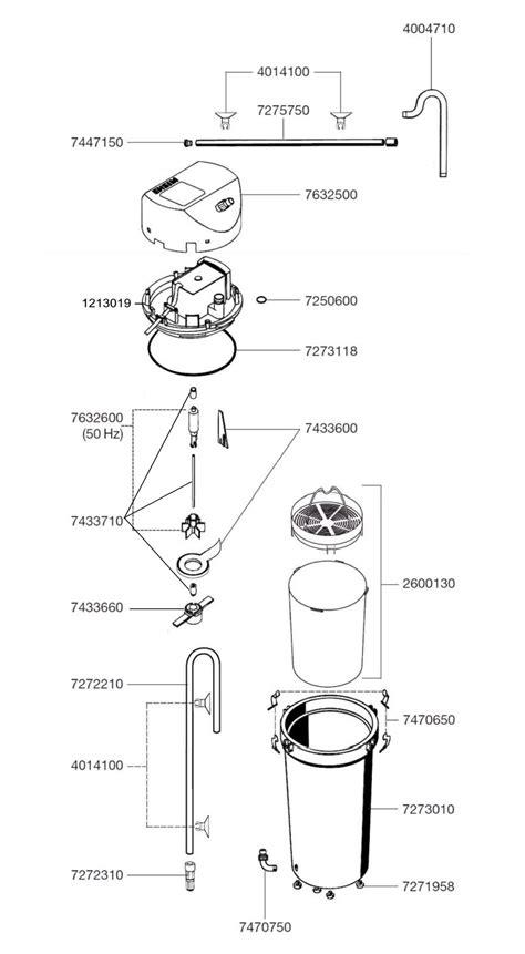 filtre a piscine 1211 eheim pi 232 ces d 233 tach 233 es pour filtre externe eheim classic