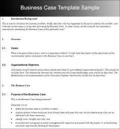 business case template free word pdf documents