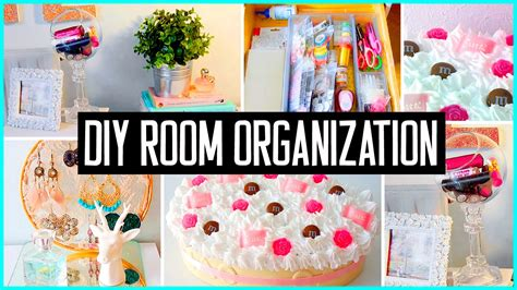 Diy room organization amp storage ideas room decor clean your room for 2015 youtube