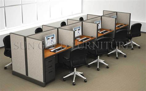 office desk with partition modern melamine office partition work station sz ws002 in