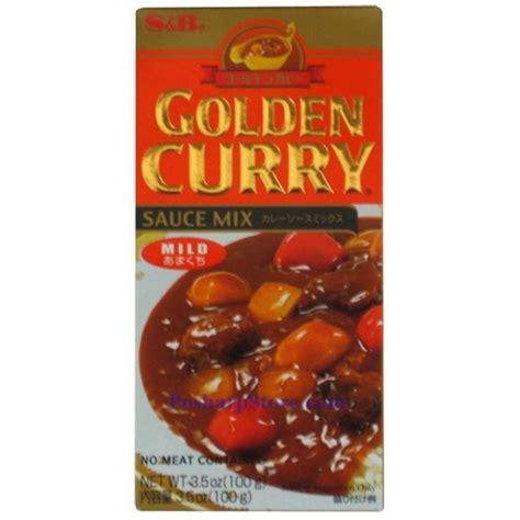 Sale S B Golden Curry Sauce Mix Saus Kari 100g s b golden curry sauce mix mild spicy 3 5 oz