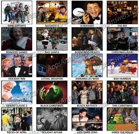 christmas film quiz answers 100 pics christmas films level 41 level 60 answers