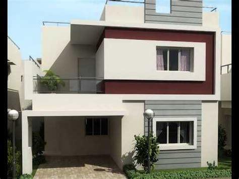 Outside Colour Of Indian House peninsula prakville executive villas sarjapura on