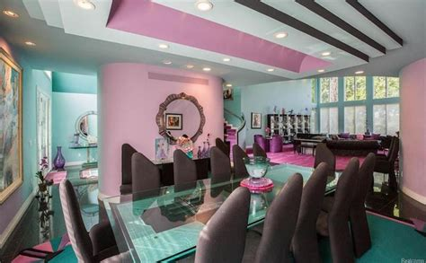 1990s interior design time capsule house features colorful 90s interior design