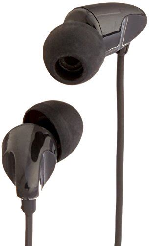 Amazonbasics Microphone by Amazonbasics In Ear Headphones With Universal Mic Black Import It All