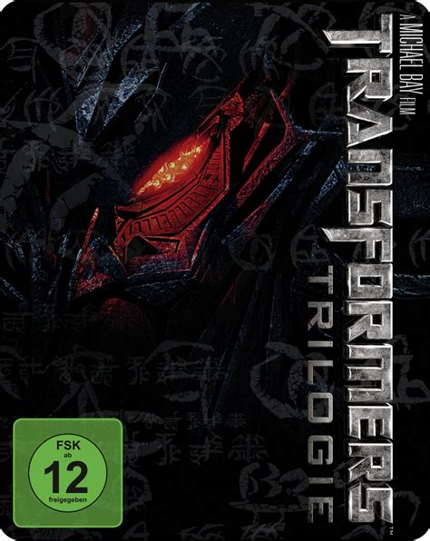 Transformers The Uk Exclusive Steelbook the transformers trilogy is getting a looking