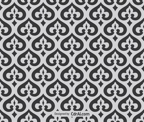 pattern vector cdr free download islamic delicate pattern seamless vector free download