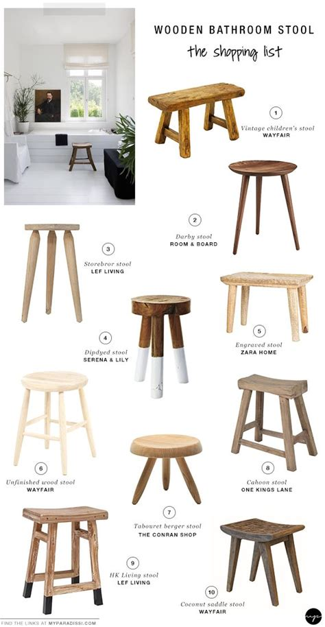 Small Wooden Stool For Bathroom best 25 wood stool ideas on